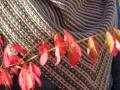 Dreiecktuch Mosaikstricken